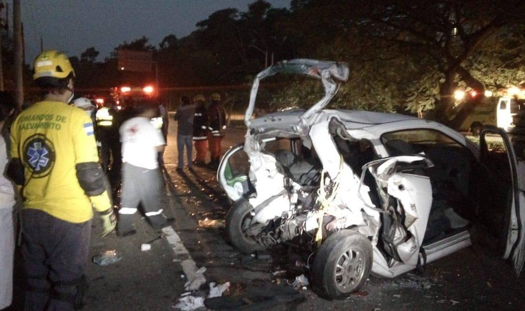 Fatal accidente autopista comalapa