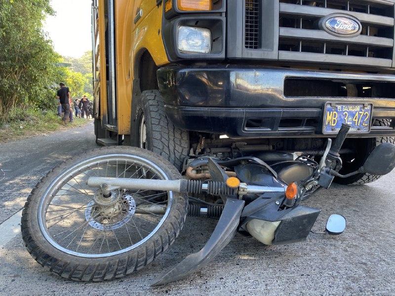 Accidente en carretera panamericana